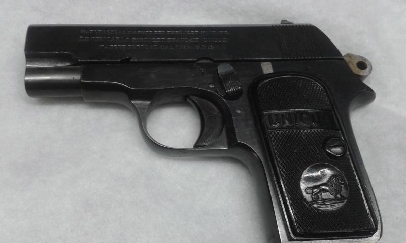 pistolet Unique modèle inconnu 20150810