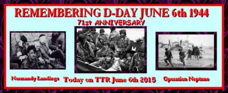 World War Two - 71st D-Day Anniversary - 6th June Dday7010