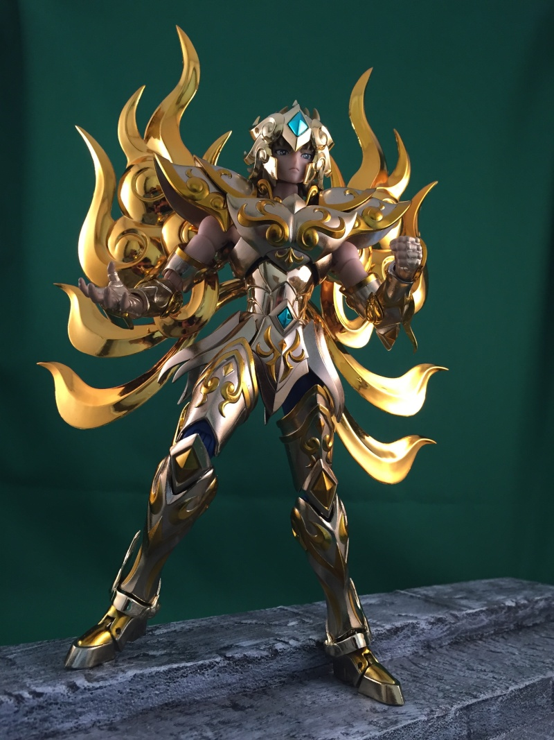 Les photos/montages de votre Myth Cloth EX du Lion Soul of Gold (God Cloth) Img_0116