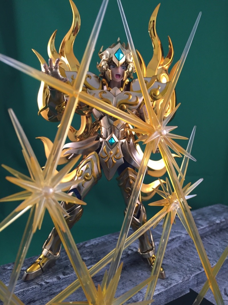 Les photos/montages de votre Myth Cloth EX du Lion Soul of Gold (God Cloth) Img_0119