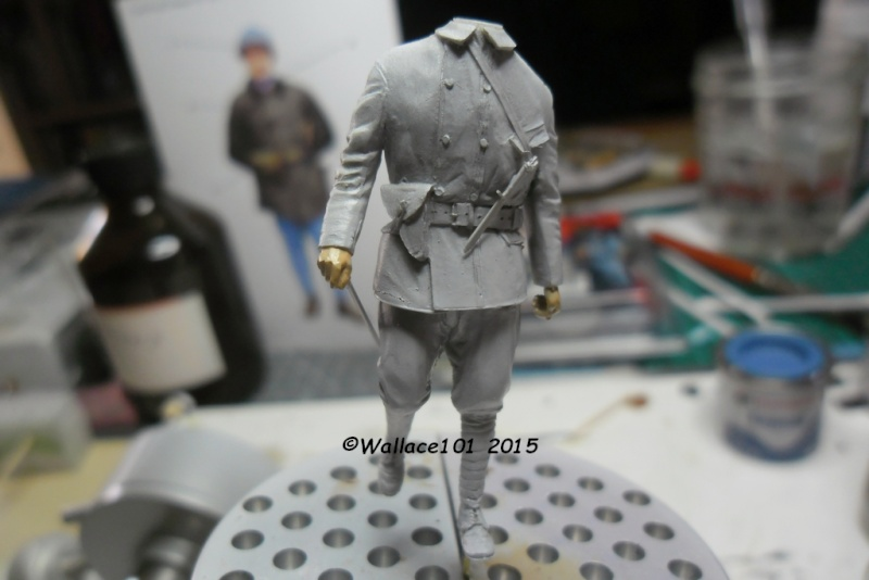 Tankiste français 1917 54mm (GSTE023) Acryliques (Tuto) Fini Appryt17