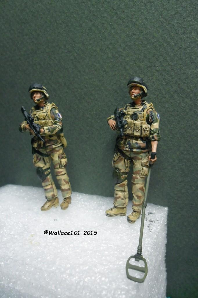 """Opération """"Serval"""" figurines Blast Model  Décals FFSMC Prod. 1/35 Sam_5035"""