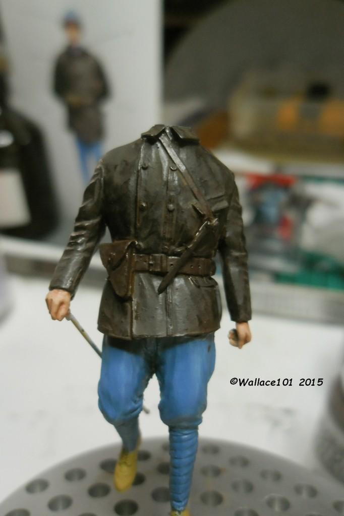 Tankiste français 1917 54mm (GSTE023) Acryliques (Tuto) Fini - Page 4 Veste215