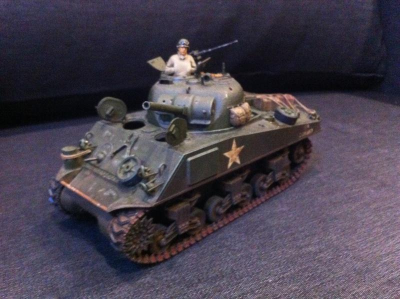 Sherman - Sherman M4A3 Tamiya  Img_1611