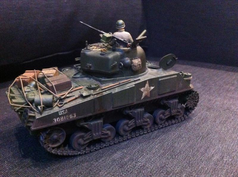 Sherman - Sherman M4A3 Tamiya  Img_1614