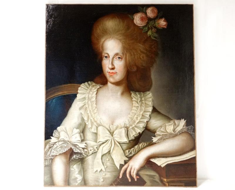 Portraits de Marie-Caroline, Reine de Naples, soeur de Marie-Antoinette 12349410