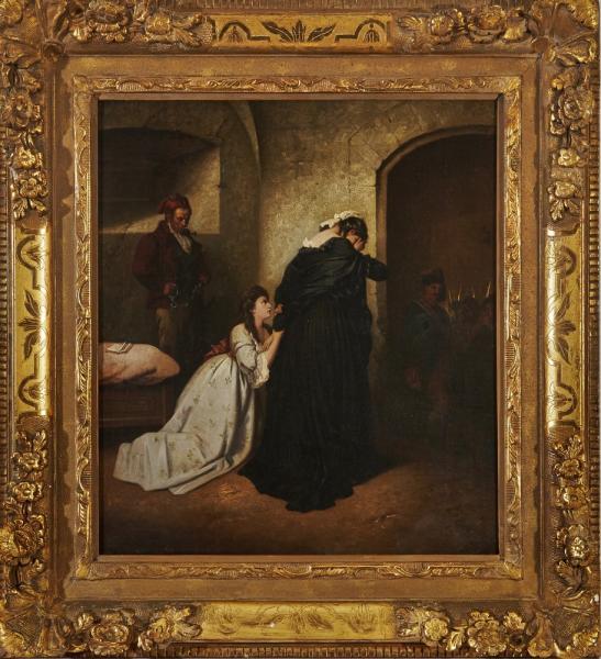 A vendre: tableaux Marie-Antoinette, Versailles et XVIIIe siècle 14353810