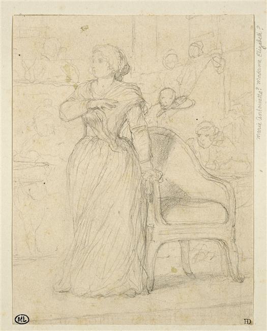 Marie-Antoinette par Delaroche 15-51310