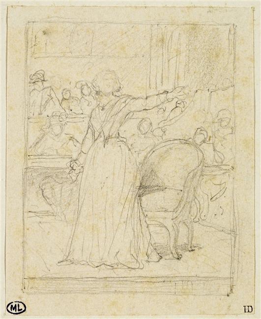 Marie-Antoinette par Delaroche 15-51312