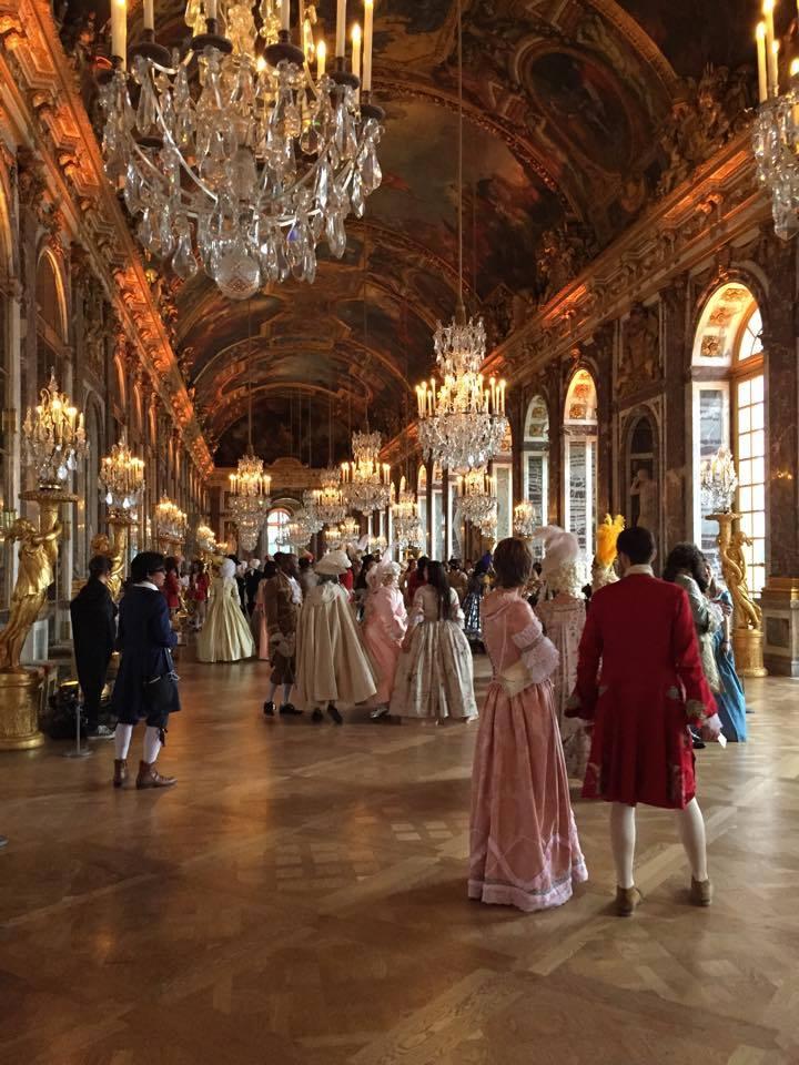 Fêtes galantes à Versailles, photos et films de l'événement Xir16510
