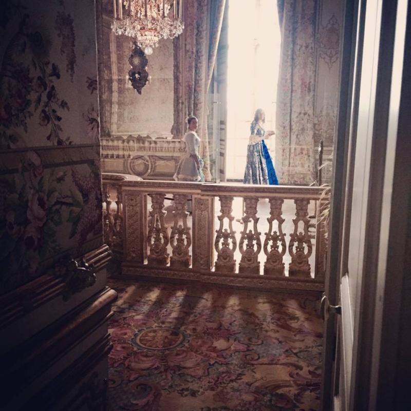 Fêtes galantes à Versailles, photos et films de l'événement Xir16511
