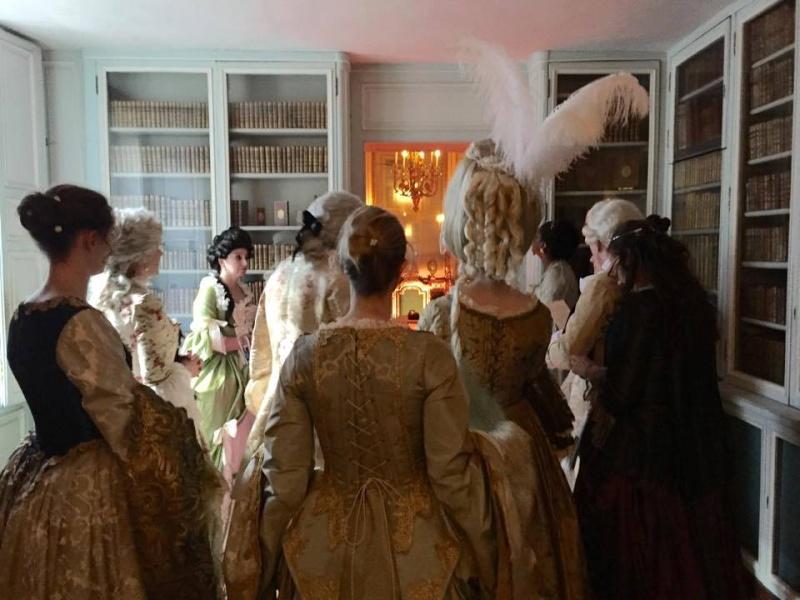 Fêtes galantes à Versailles, photos et films de l'événement Xir16516