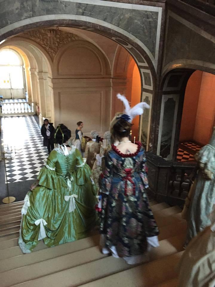 Fêtes galantes à Versailles, photos et films de l'événement Xir16518