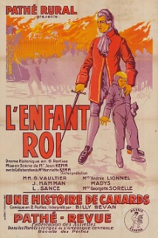 """""""L'Enfant Roi"""" de Jean Kemm, (1923) avec Andrée Lionel Zzzzen11"""