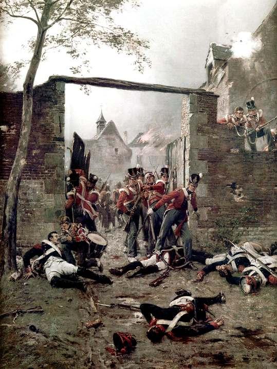 PLAT = L'assaut d'Hougoumont (18 juin 1815) 30mm - Page 2 Hougom10