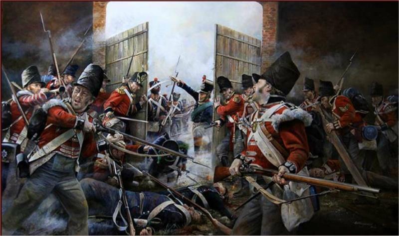 PLAT = L'assaut d'Hougoumont (18 juin 1815) 30mm - Page 2 Hougou10