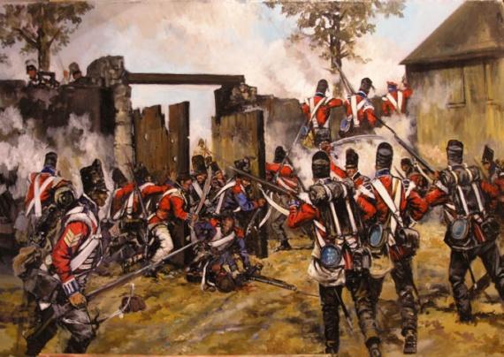 PLAT = L'assaut d'Hougoumont (18 juin 1815) 30mm - Page 2 Img-1910