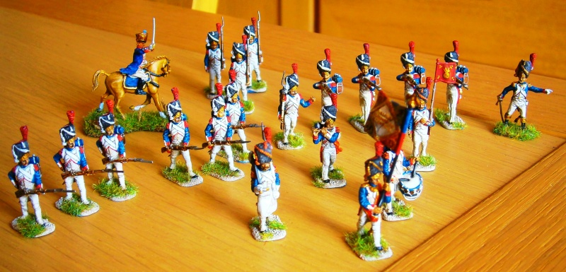 Grenadiers et fantassins Zvezda. P8190010