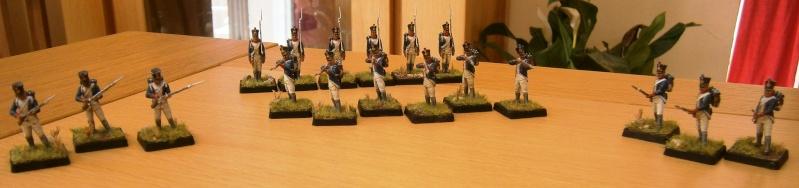 Grenadiers et fantassins Zvezda. P8190011