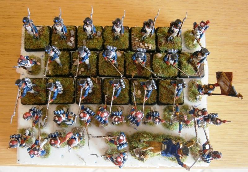 Grenadiers et fantassins Zvezda. U10