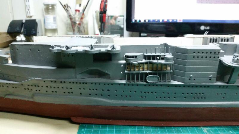 JPN Flugzeugträger AKAGI1:250 von DE AGOSTINI gebaut von Arrowsmodell - Seite 5 Akagi107