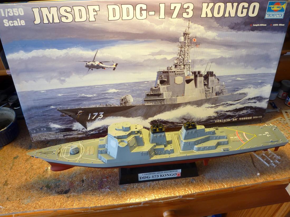 JMSDF KONGO par DAGORNSON 1/350 Trumpeter PE Lion Roar Jmsdf_15