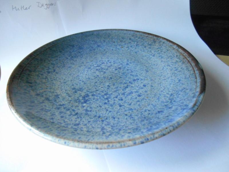 Mottled Blue Plate - Jma or M Brimes? mark - any ideas on maker please Dscn0011