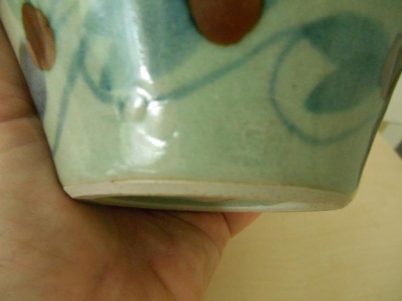 Help re. Potter pl celadon colour glaze - 2 marks R C plus another Dscn7829