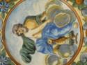 Italian faience plate, Castelli maiolica, Abruzzo, Italy. Dscn6112