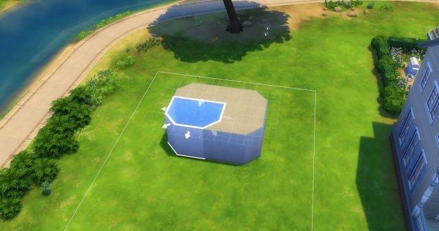 [Intermédiaire] Simuler une cascade attenante à une piscine 09-06-11