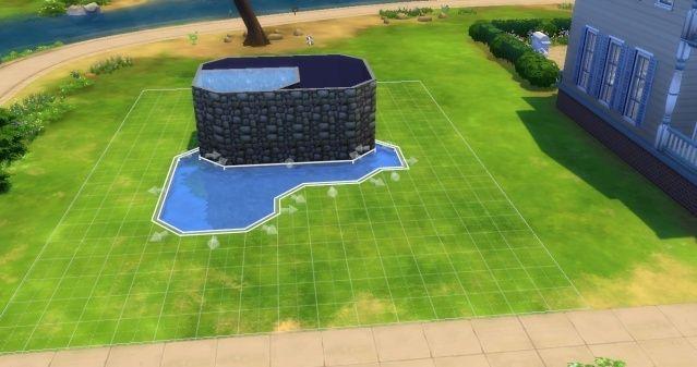 [Intermédiaire] Simuler une cascade attenante à une piscine 09-06-13