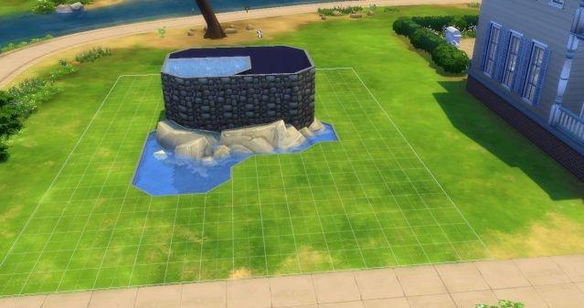 [Intermédiaire] Simuler une cascade attenante à une piscine 09-06-14