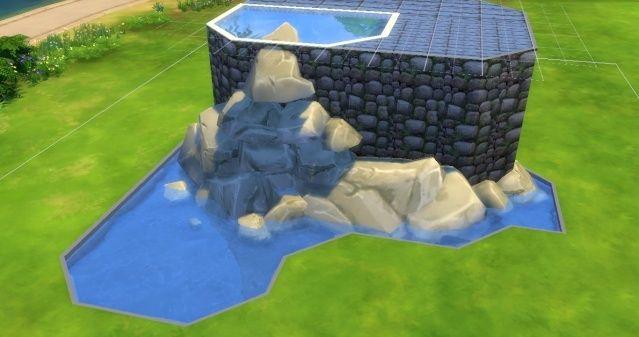 [Intermédiaire] Simuler une cascade attenante à une piscine 09-06-15