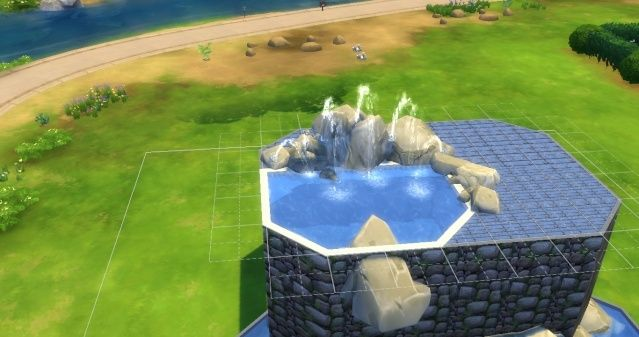 [Intermédiaire] Simuler une cascade attenante à une piscine 09-06-17