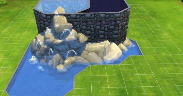 [Intermédiaire] Simuler une cascade attenante à une piscine 09-06-18