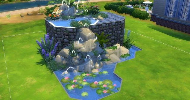 [Intermédiaire] Simuler une cascade attenante à une piscine 09-06-20