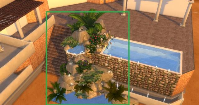 [Intermédiaire] Simuler une cascade attenante à une piscine Photo_10