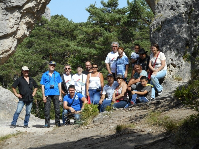 Sortie découverte des Cévennes-Causse Mejean-viaduc de millau les 3,4 et 5 juillet Dscn0010