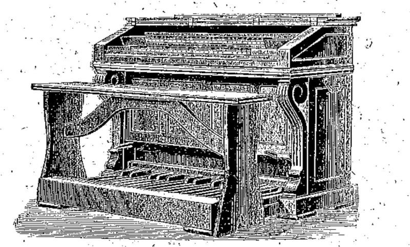 Restauration d'un harmonium Alexandre Père & Fils 2mp et reconstruction du banc Harmon11