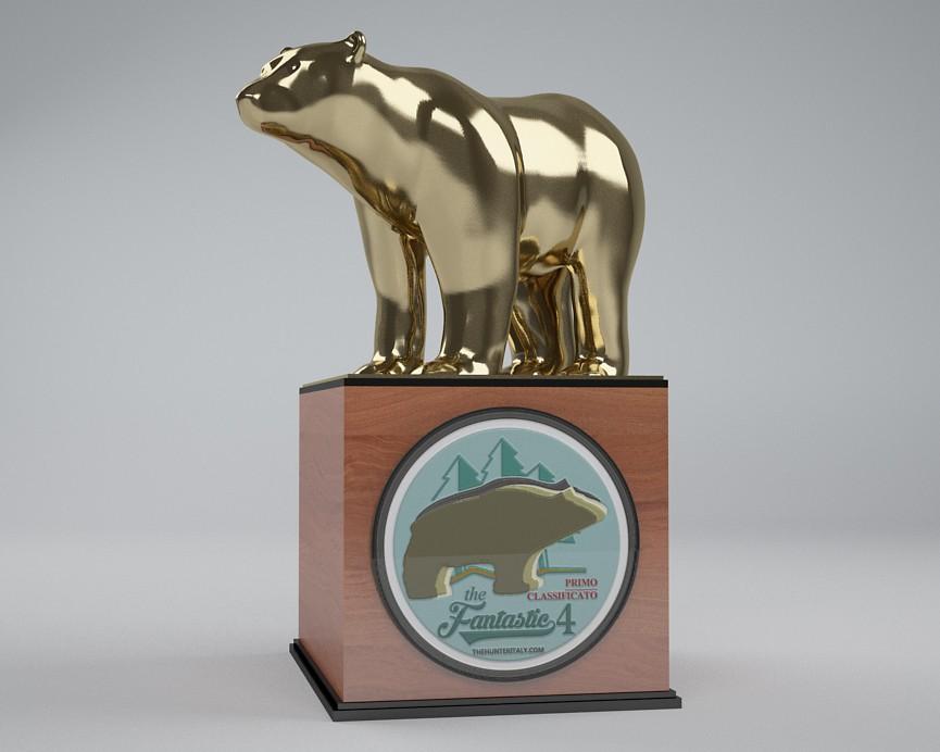 [CONCLUSA] Competizioni ufficiali theHunterItaly - THE FANTASTIC FOUR - varianti orso nero Oro10