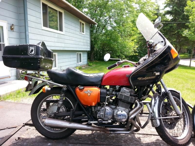 1974 Honda 750 K Honda110