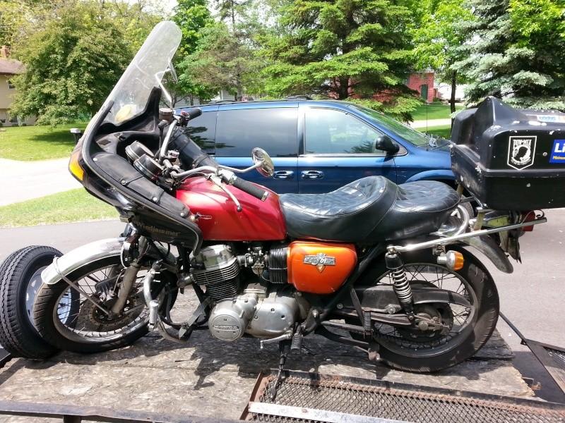 1974 Honda 750 K Honda210