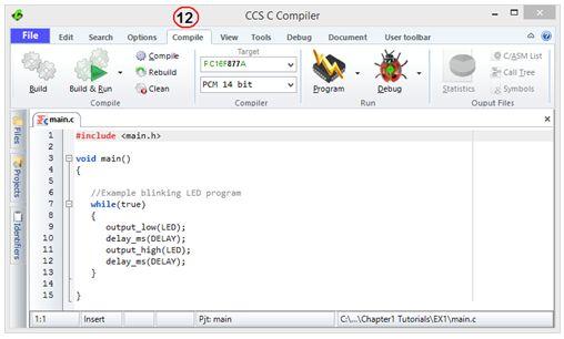 ترجمة وإعداد كتاب البرمجة بلغة السى المدمجة وتطبيقات لغة السى والميكروكونترولر PIC مع المترجم CCS C  : Embedded C Programming Techniques and Applications of C and PIC® MCUS 1012