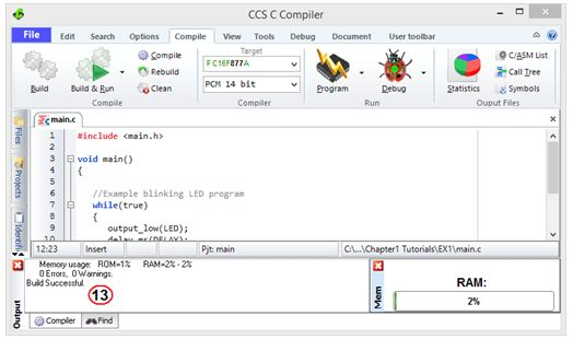 ترجمة وإعداد كتاب البرمجة بلغة السى المدمجة وتطبيقات لغة السى والميكروكونترولر PIC مع المترجم CCS C  : Embedded C Programming Techniques and Applications of C and PIC® MCUS 1111
