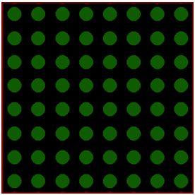 كيفية البدء فى عمل شاشة ليد ماتريكس ناجحة والبرمجة بلغة السى مع المترجم ميكروسى برو : 132