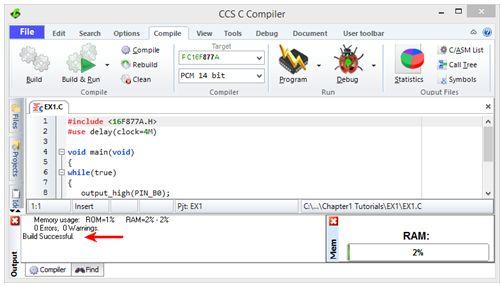 ترجمة وإعداد كتاب البرمجة بلغة السى المدمجة وتطبيقات لغة السى والميكروكونترولر PIC مع المترجم CCS C  : Embedded C Programming Techniques and Applications of C and PIC® MCUS 415