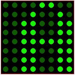 كيفية البدء فى عمل شاشة ليد ماتريكس ناجحة والبرمجة بلغة السى مع المترجم ميكروسى برو : 717