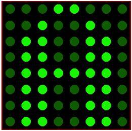 كيفية البدء فى عمل شاشة ليد ماتريكس ناجحة والبرمجة بلغة السى مع المترجم ميكروسى برو : 817