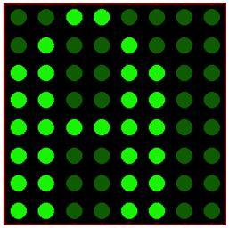 كيفية البدء فى عمل شاشة ليد ماتريكس ناجحة والبرمجة بلغة السى مع المترجم ميكروسى برو : 915