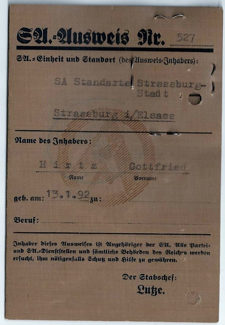 Vos livrets militaires allemands WWII (Soldbuch, Wehrpass..) / Heer-LW-KM-SS... - Page 2 Scan0010